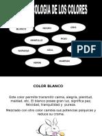 Psiclogia de Los Colores