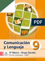 Libro Zaculeu Com. y Lenguaje 1er. Sem