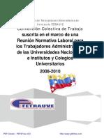 I Normativa Laboral de FETRAUVE