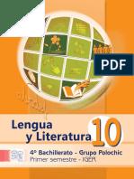 Libro Polohic Lengua y Literatura 1er. Sem
