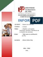 INFORME Gestion de Versiones ITIL
