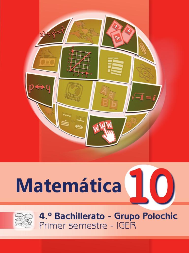 Libro Polochic Matemática 1er. Sem