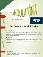 Fenômenos Ondulatorios