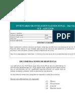 Cuestionario IE