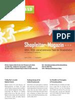Shopleiter Magazin Nr. 1 - April 2010 :