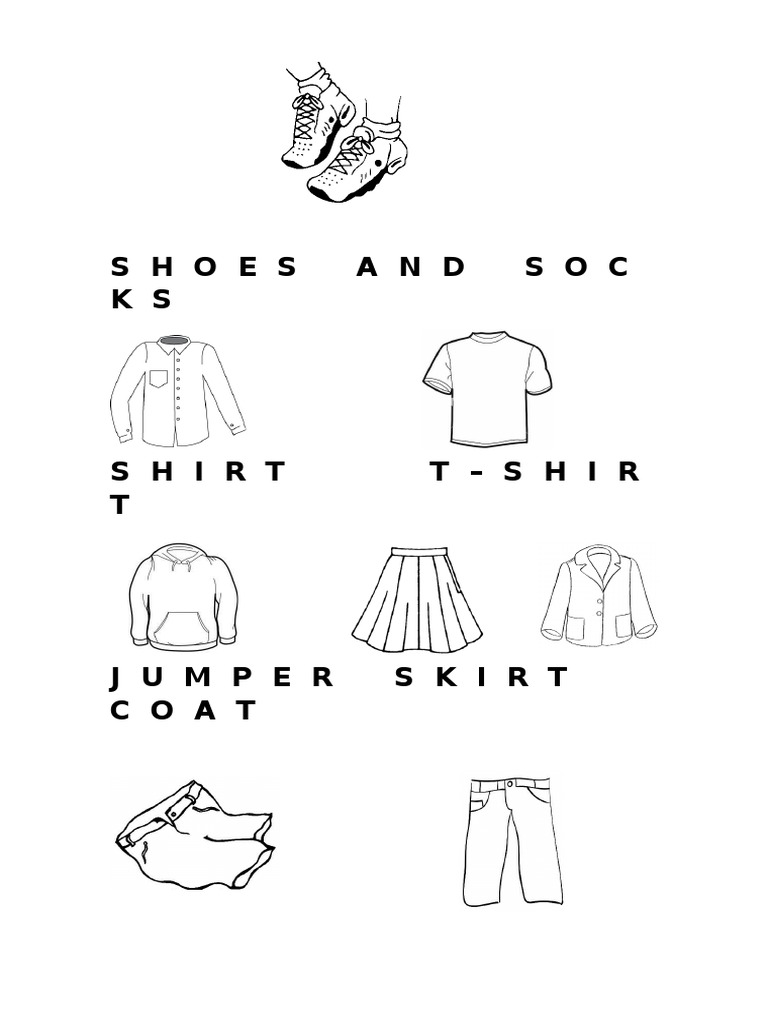 Tiger Tales 2 Unit 3 Practice Vocabulary Worksheet Clothes