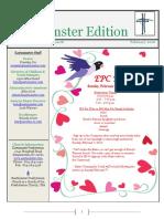 2016 February Eastminster Edition