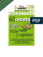 Zuleta Franco Adriana - 63 Recetas Light Ricas Y Rapidas