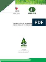 Fertilizacion de Eucaliptus Globulus Producido en Contenedores