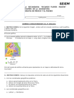 Examen Geo 2o. Bimestre