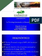 La Tecnología Intermedia y El Desarrollo Forestal
