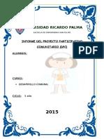 Esquema Del Informe Del DPC