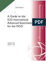 ICO Inst Bk Advanced Exam 2015