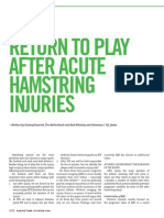 Return to play after acute hamstring injuriesReurink Tol Return to Play After Acute Hamstring Injuries