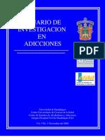 Anuario de Investigacion en Adicciones
