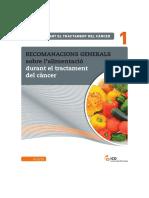 Tractament Càncer_Recomanacions Generals Sobre l'Alimentació