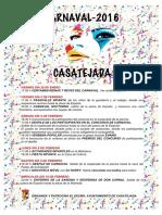 Carnaval 2016 Casatejada