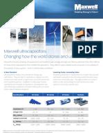 Ultracapacitors Overview Flyer 3000615-2EN