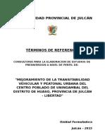 Tdr Transitabilidad Vehicular y Peatonal Uningambal