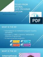 ib myp presentation