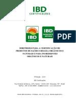 Directrices Instituto Biodinamico Para Cosmeticos Naturales