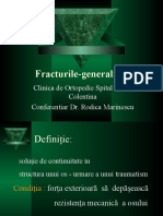 01 Fracturile - Generalitati