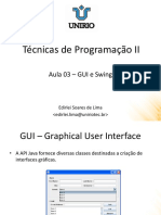 Java GUI e Swing