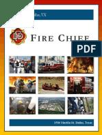 City of Dallas Texas Fire Chief
