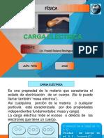 Carga y Fuerza Eléctrica