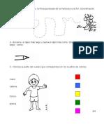 Examen Diagnostico Primero Primaria