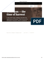 Uttarayan - The Time of Harvest