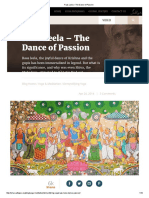 Raas Leela – the Dance of Passion