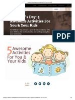 Children's Day_ 5 Awesome Activities for You & Your Kids