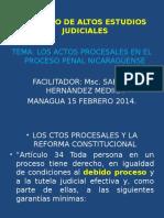 Los Actos Procesales Junio 2011