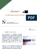 S8 Diapositiva La Derivada
