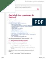 Capítulo 2. Las Novedades de Debian 8