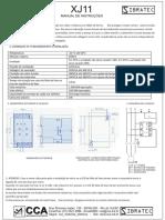 XJ11 Manual