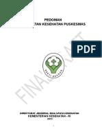 Draft Final Pedoman Puskesmas