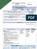 Planificaciòn Diaria sobre Diseño de Pagina