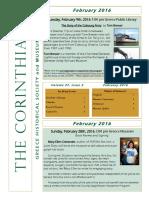 The Corinthian - February 2016