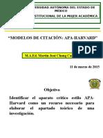 Modelos de Citación Apa Harvard 5ª Edición