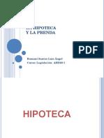 Hipoteca y Prenda