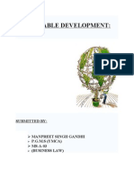 Sustainable Development.doc of Monday