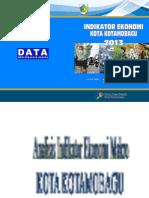 Indikator Ekonomi Kota Kotamobagu 2013