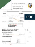 Cuestionario de tercer grado