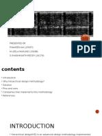 Presentation on Advanced Design Methodology in Fpga