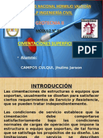 MÓDULO N° 03 - CIMENTACIONES SUPERFICIALES