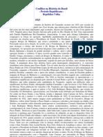 História do Brasil - Pré-Vestibular - 1923 - Revolução Libertadora