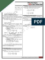 Mat 0 - Aula 3 - Operações Com Frações