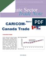 CRNM - Private Sector Trade Note - Vol 5 2009